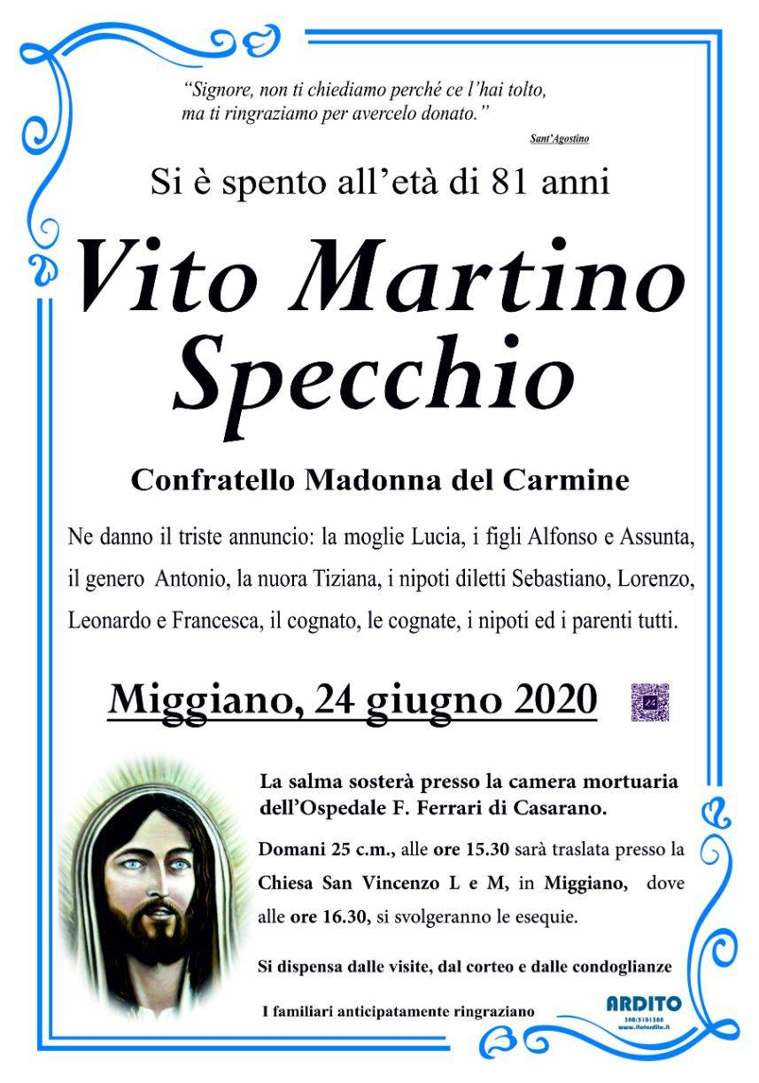 Vito Martino Specchio