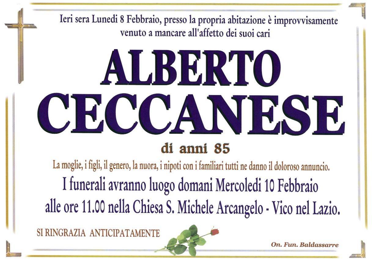Alberto Ceccanese