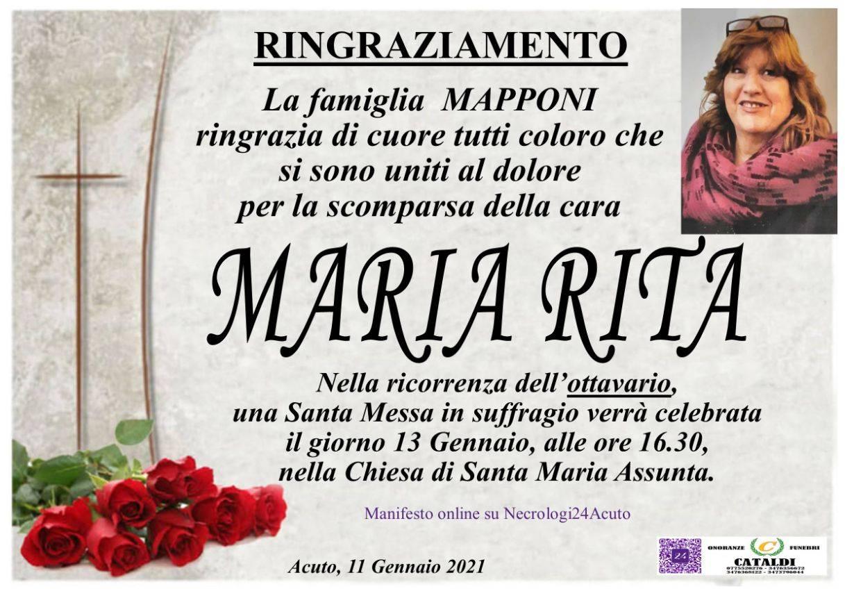 Maria Rita Mapponi