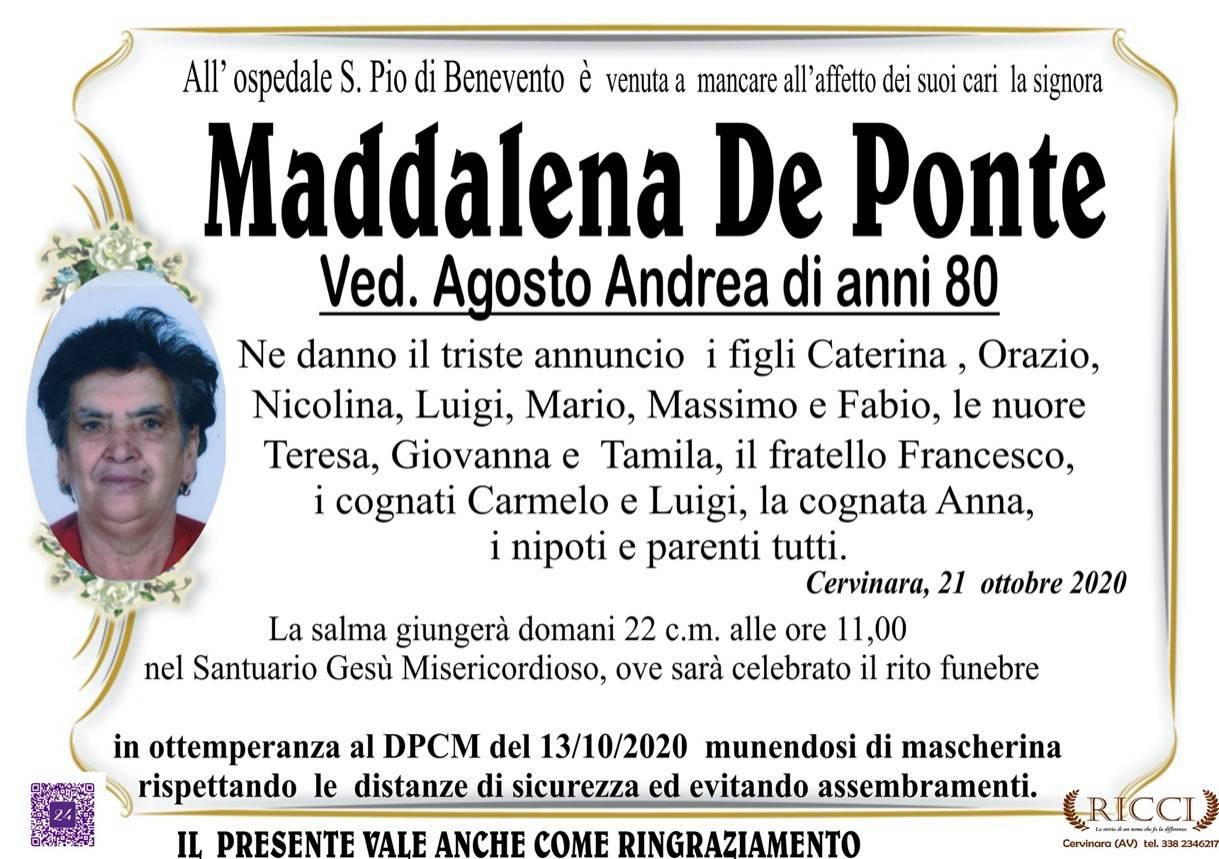 Maddalena De Ponte