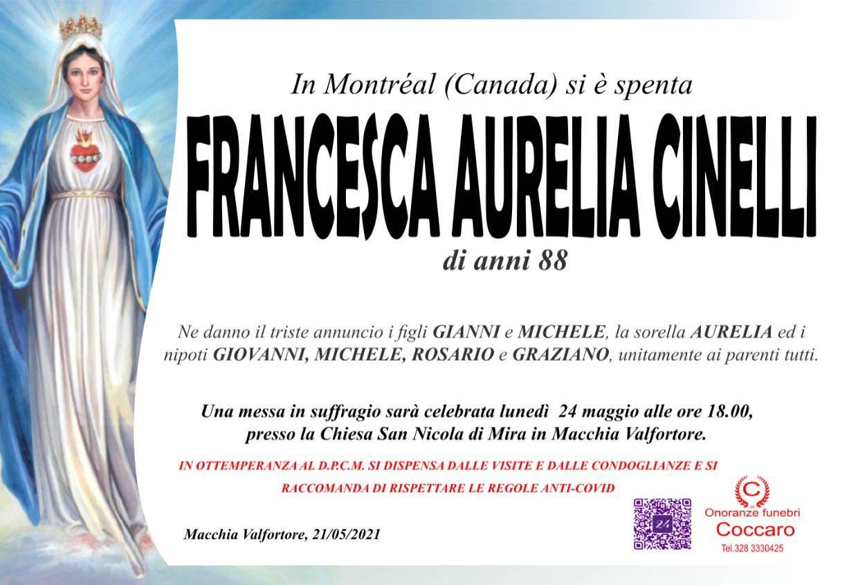 Francesca Aurelia Cinelli