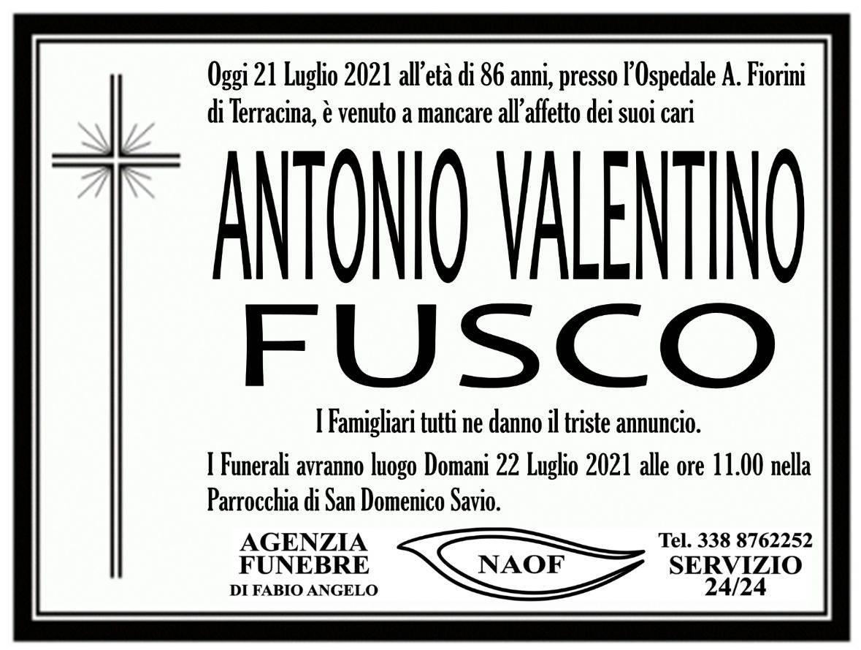 Antonio Valentino Fusco