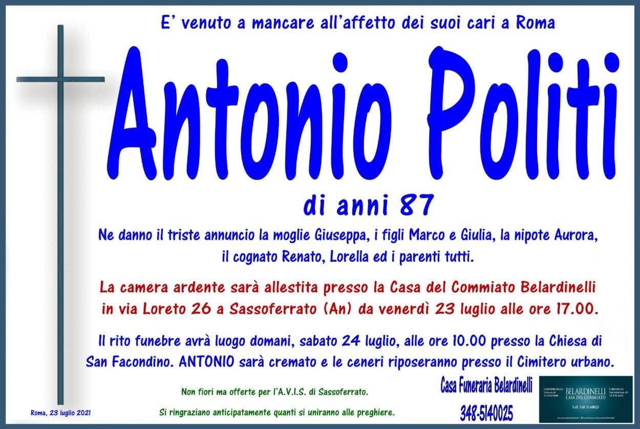 Antonio Politi
