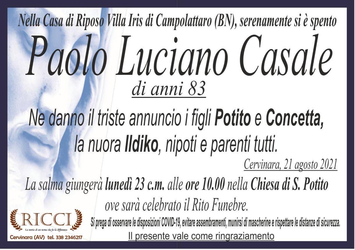 Paolo Luciano Casale