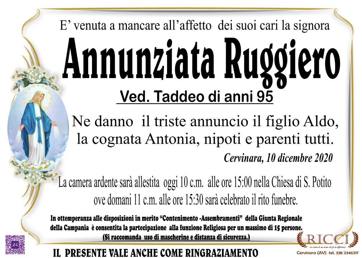 Annunziata Ruggiero