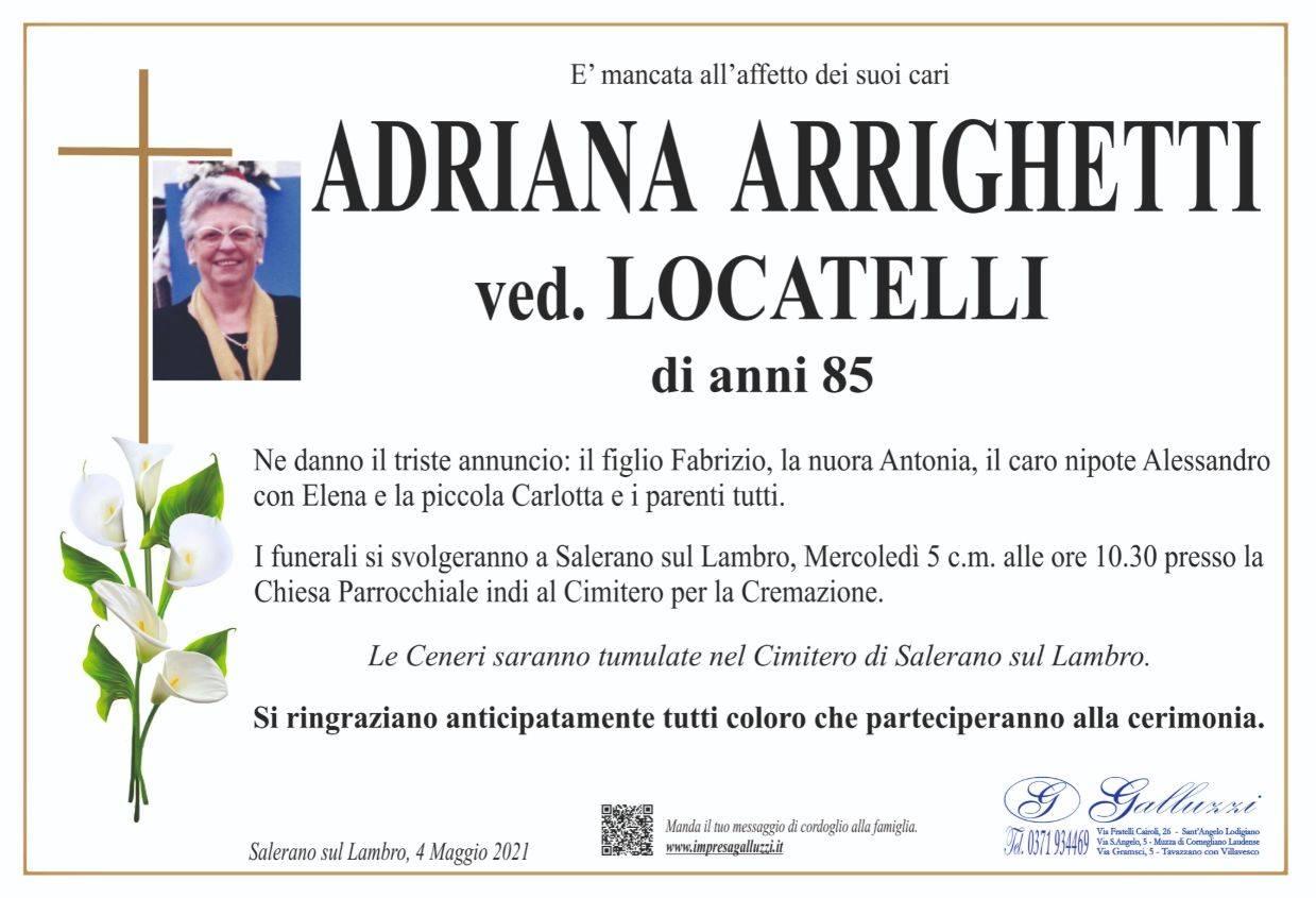 Adriana Maria Arrighetti