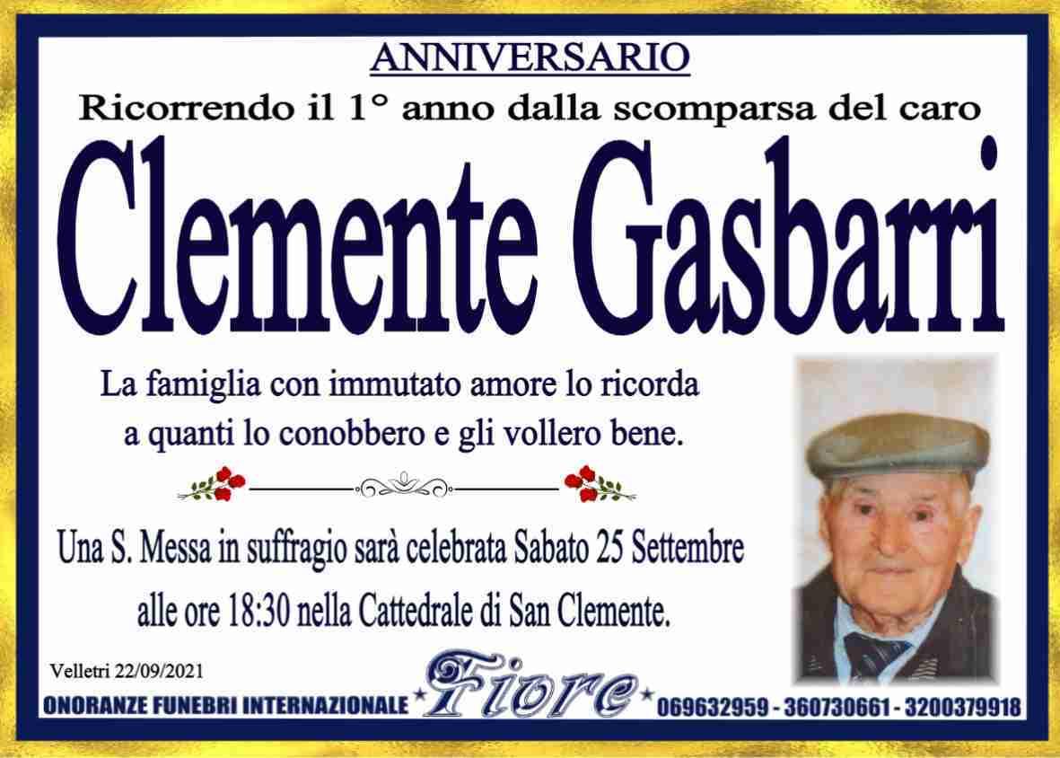 Clemente Gasbarri