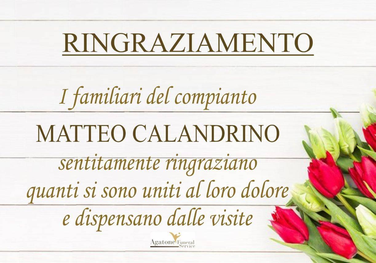 Matteo Calandrino