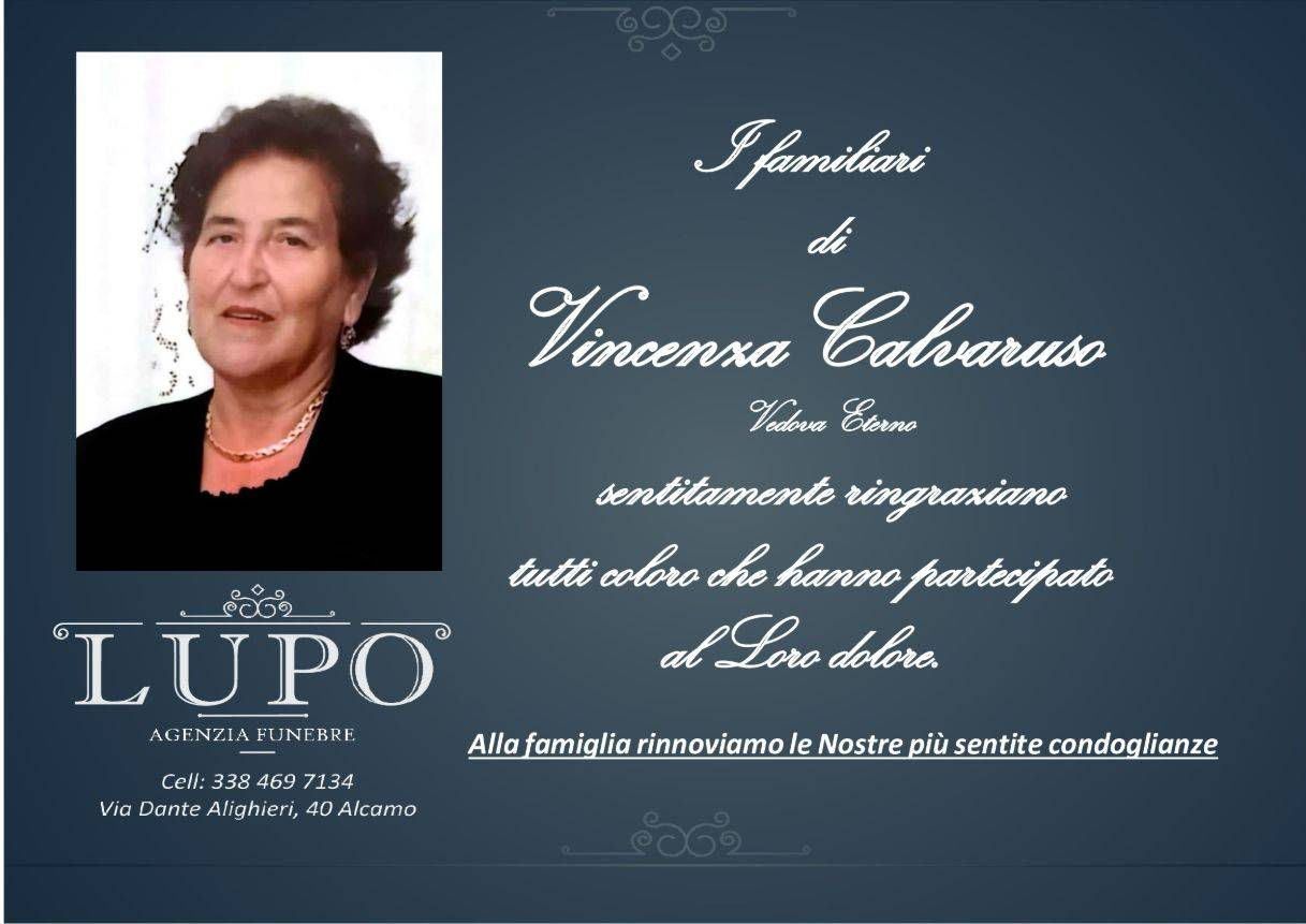 Vincenza Calvaruso
