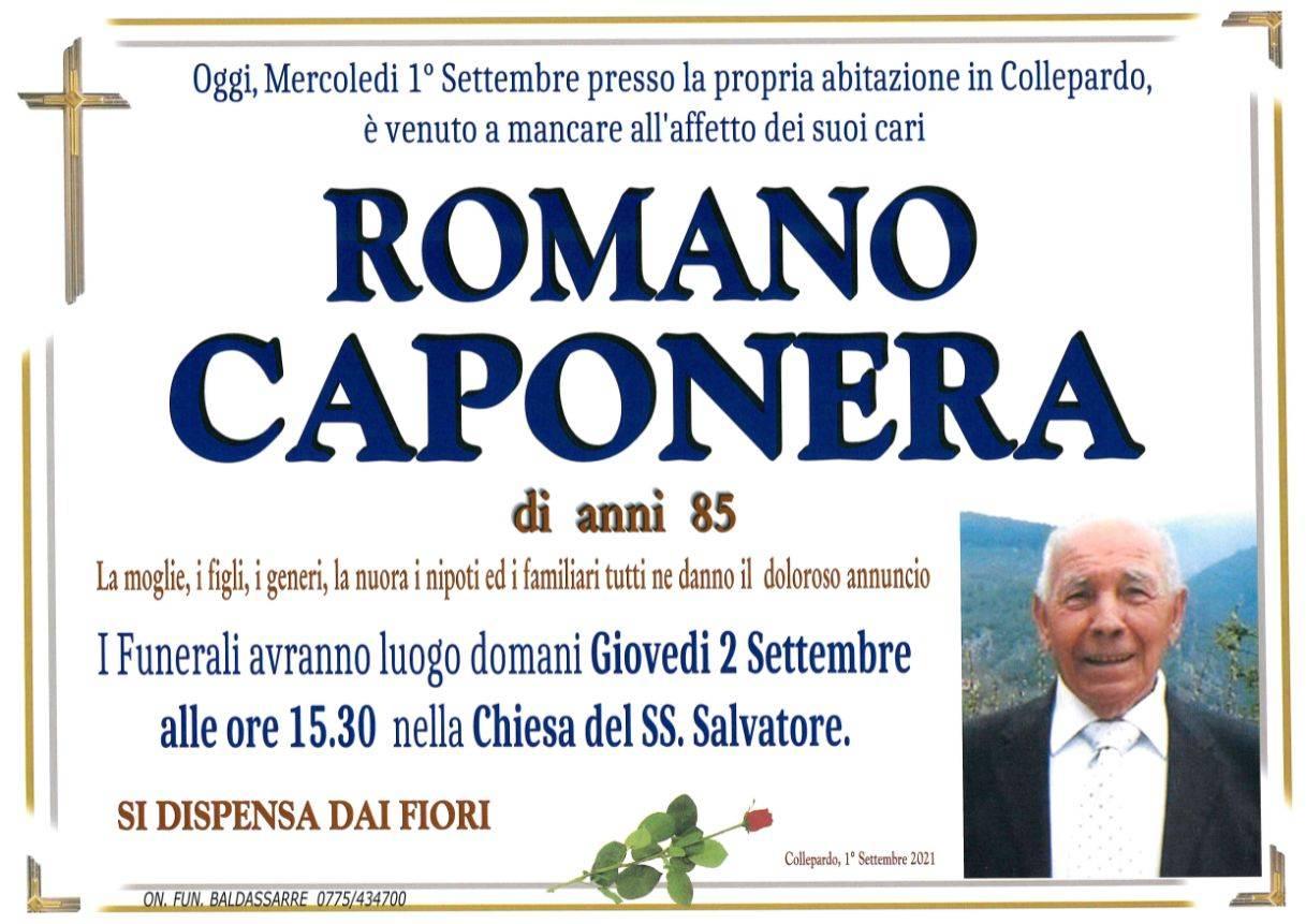 Romano Caponera