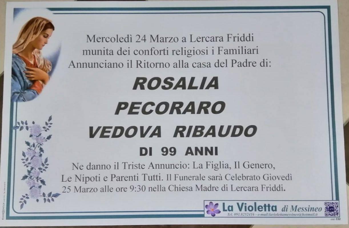 Rosalia Pecoraro
