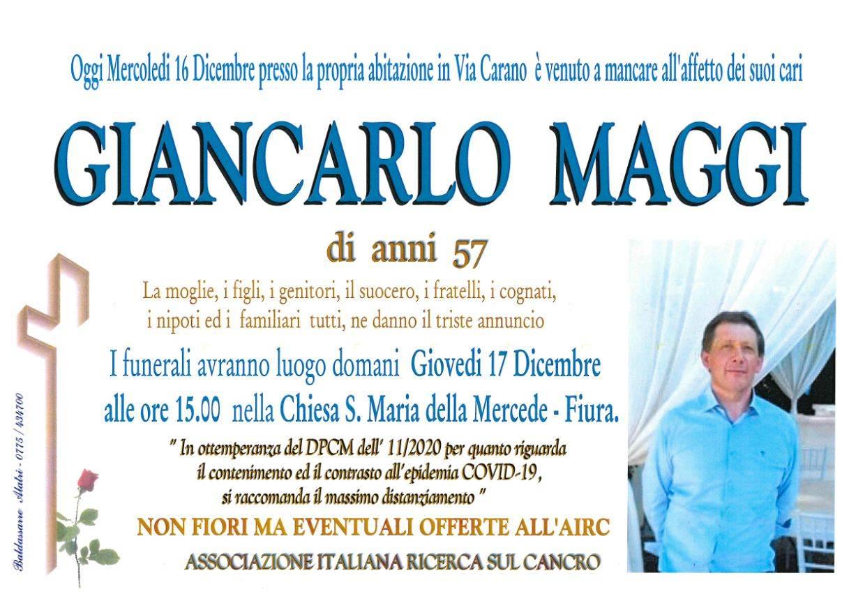 Giancarlo Maggi