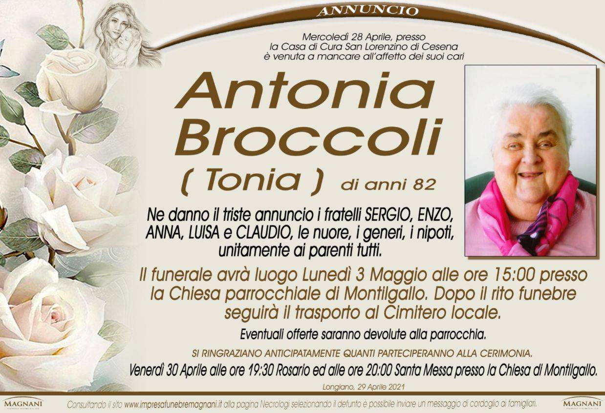 Antonia Broccoli