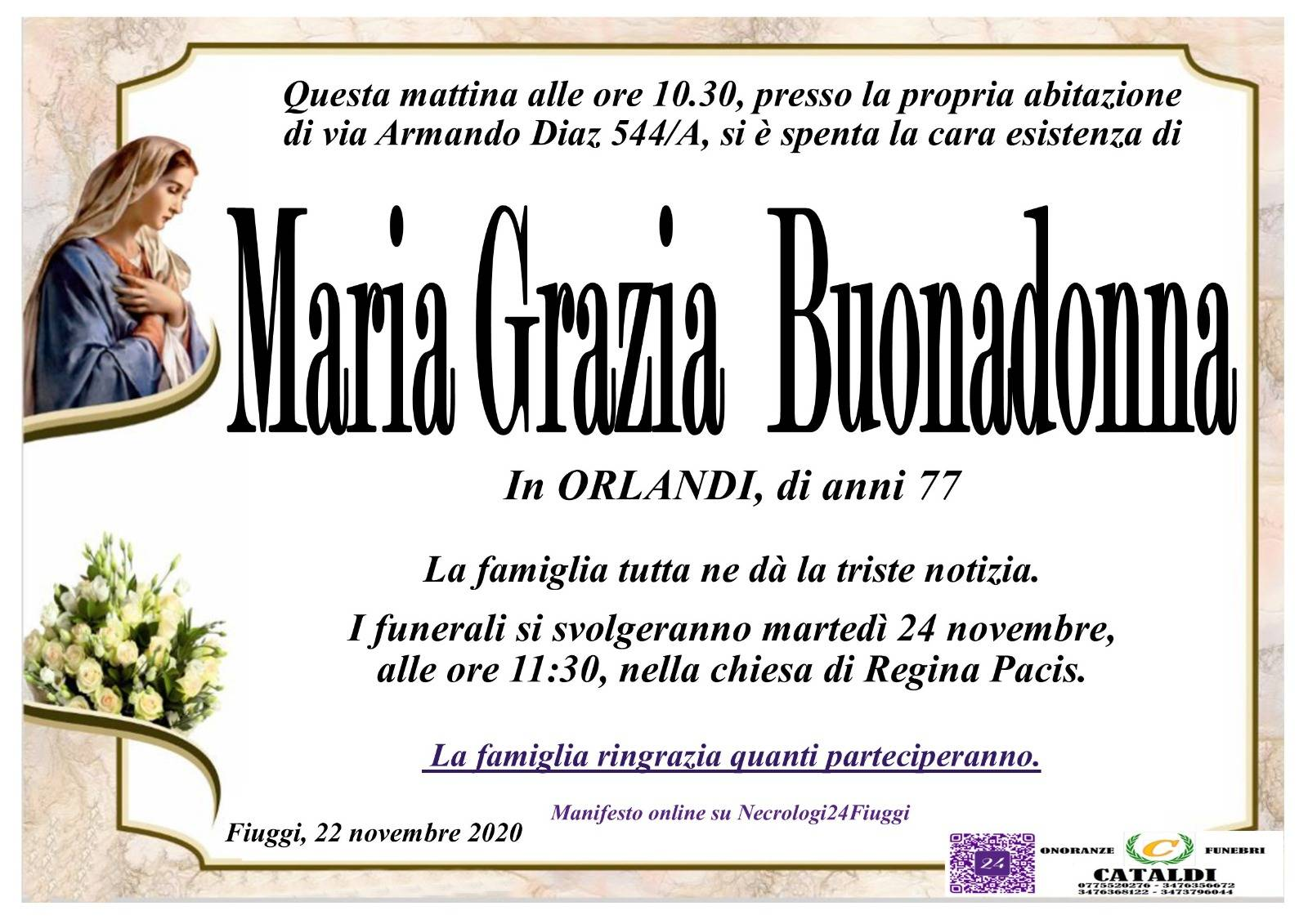 Maria Grazia Buonadonna