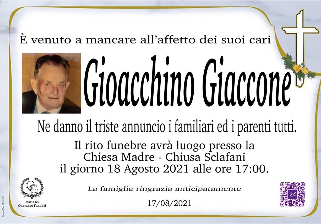 Gioacchino Giaccone