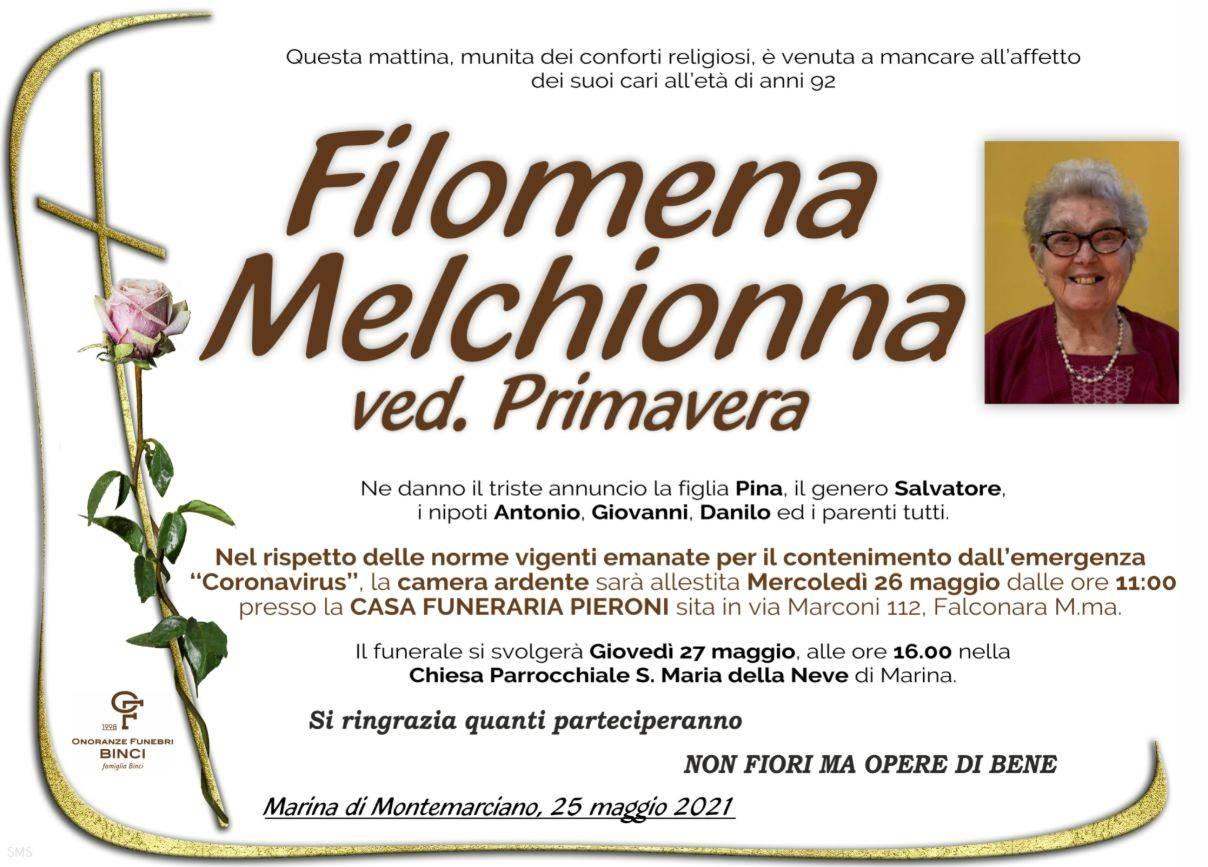 Filomena Melchionna