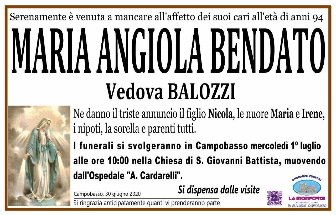 Maria Angiola Bendato