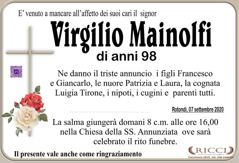 Virgilio Mainolfi