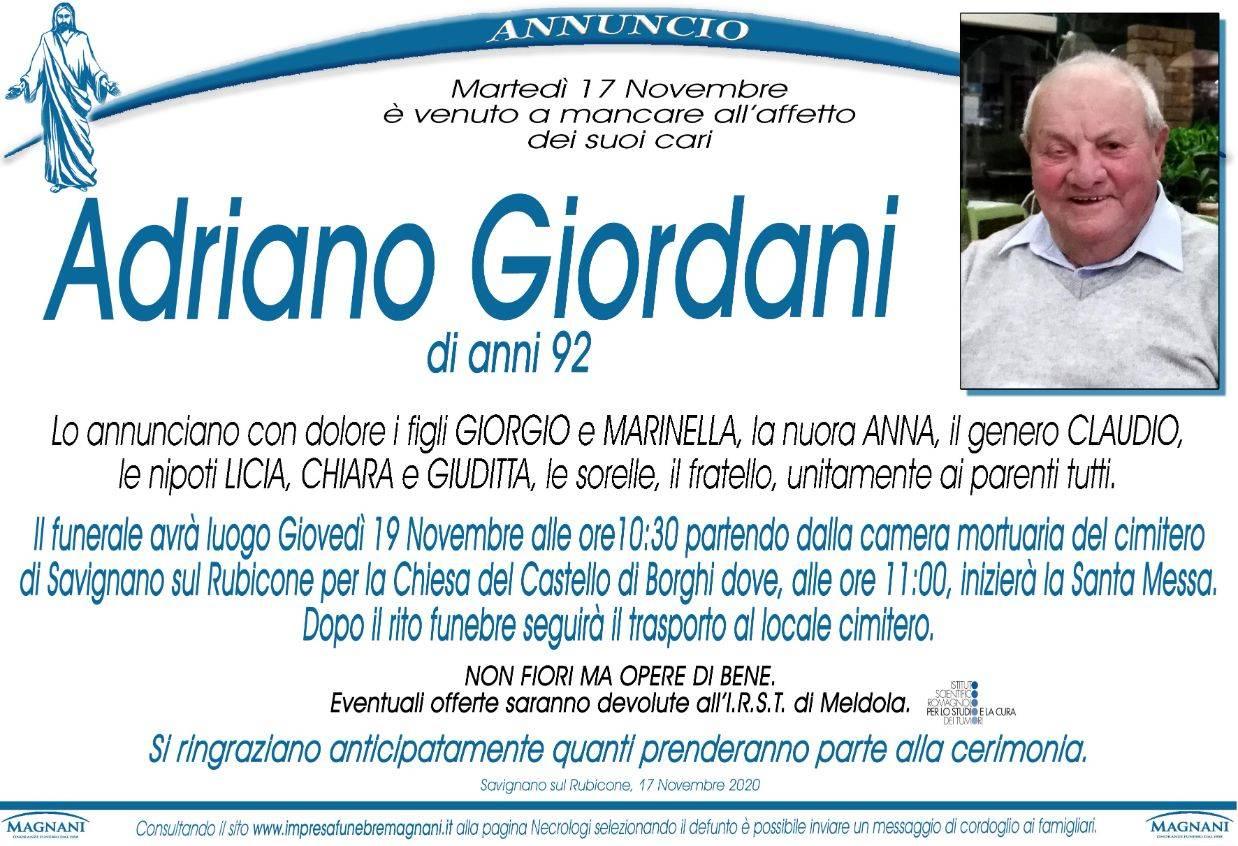 Adriano Giordani