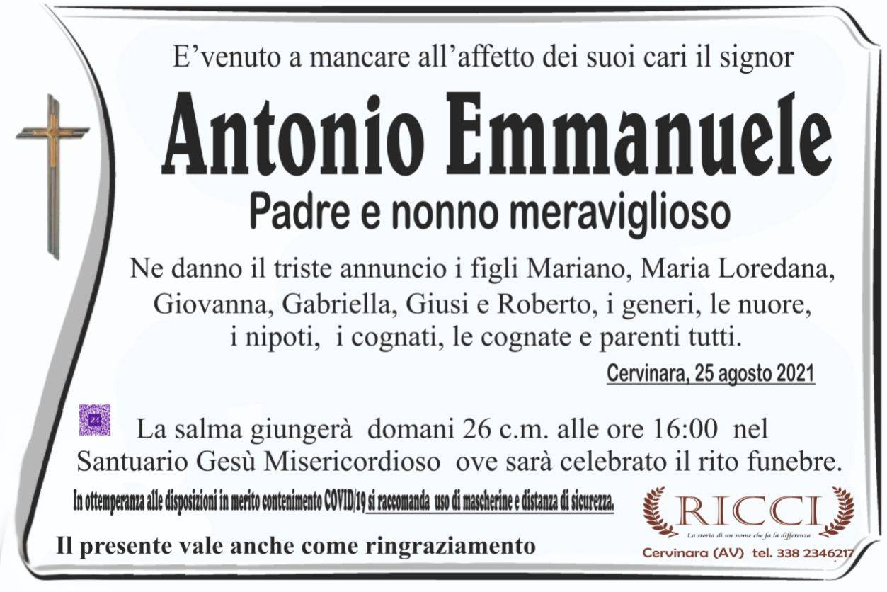 Antonio Emmanuele