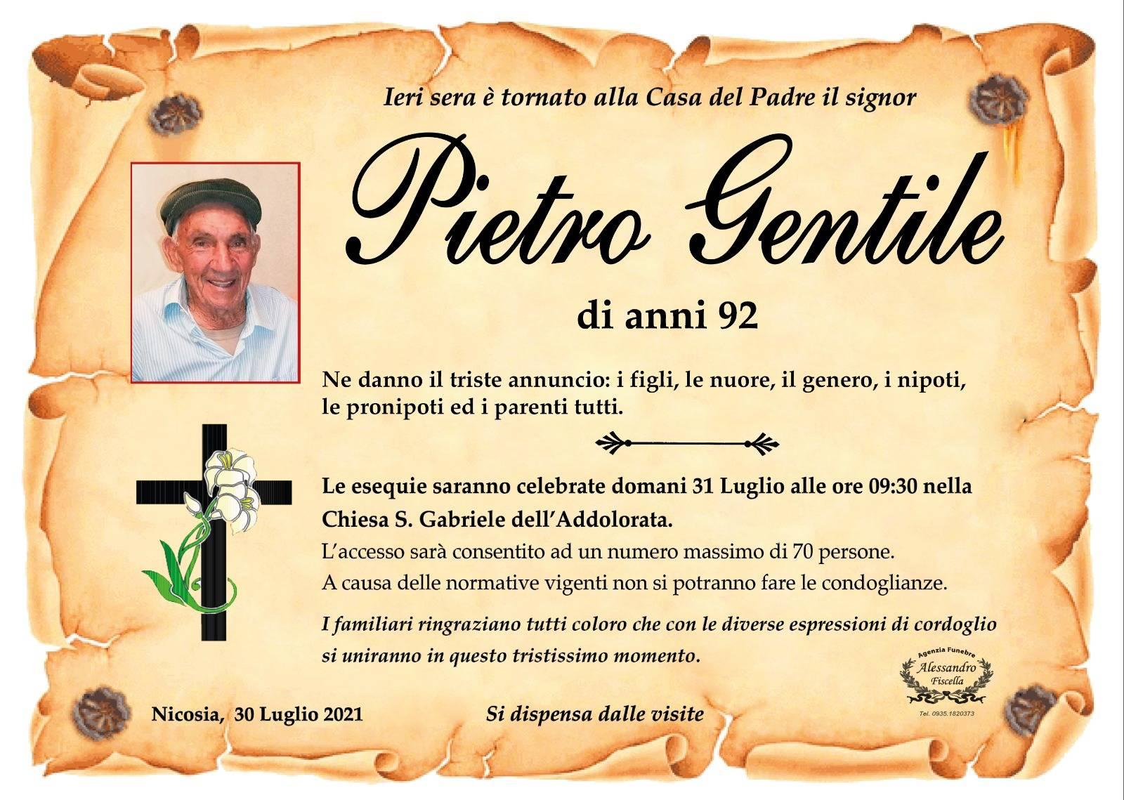 Pietro Gentile
