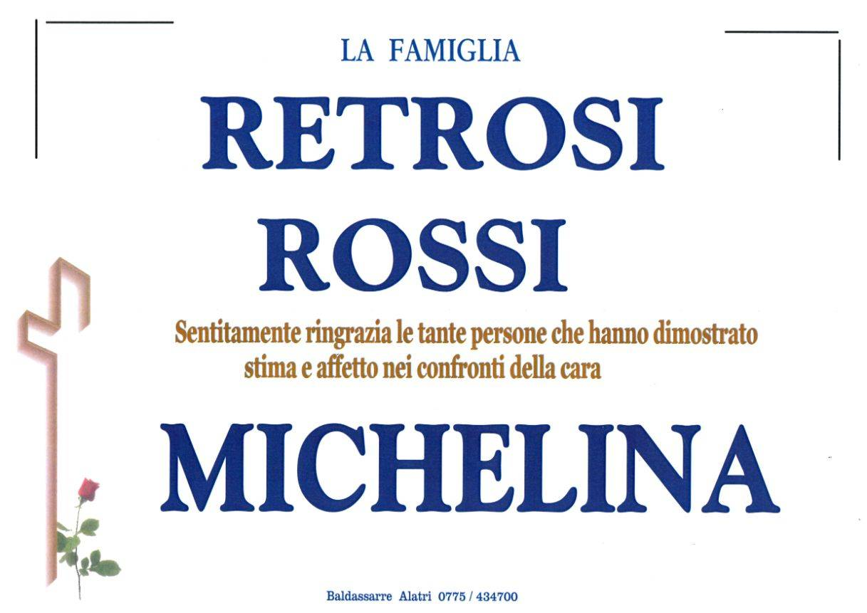 Michelina Retrosi