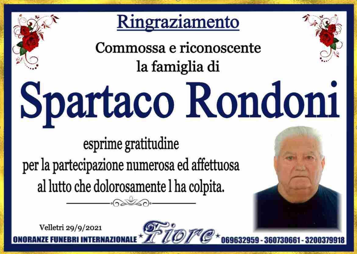 Spartaco Rondoni