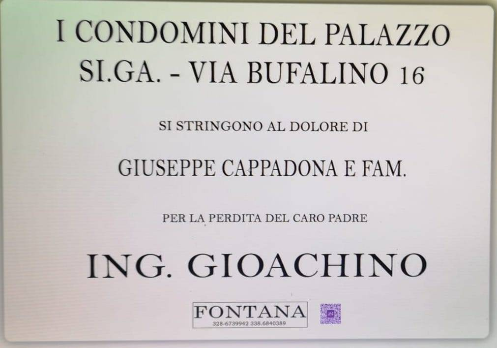 I condomini del Palazzo SI.GA. - Via Bufalino 16