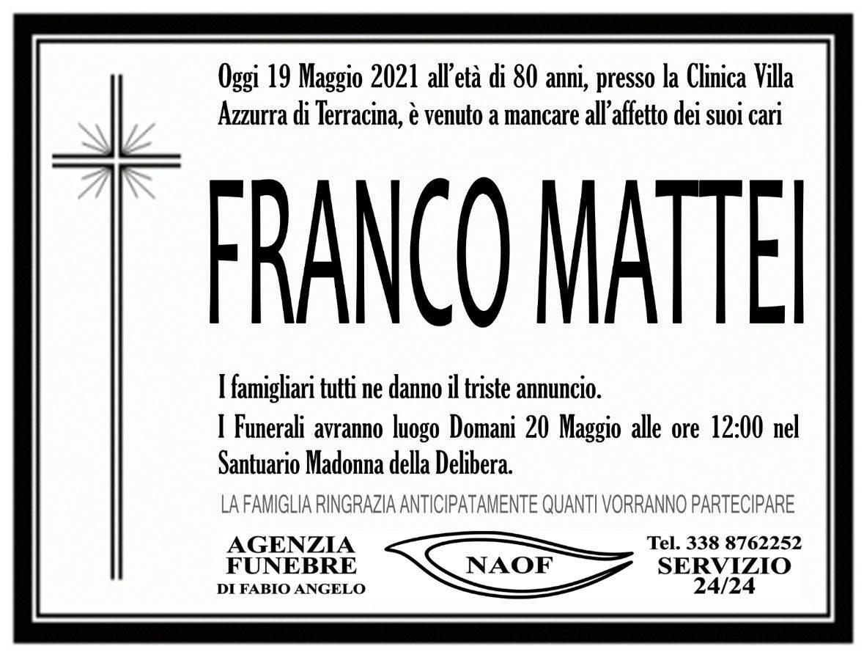 Franco Mattei