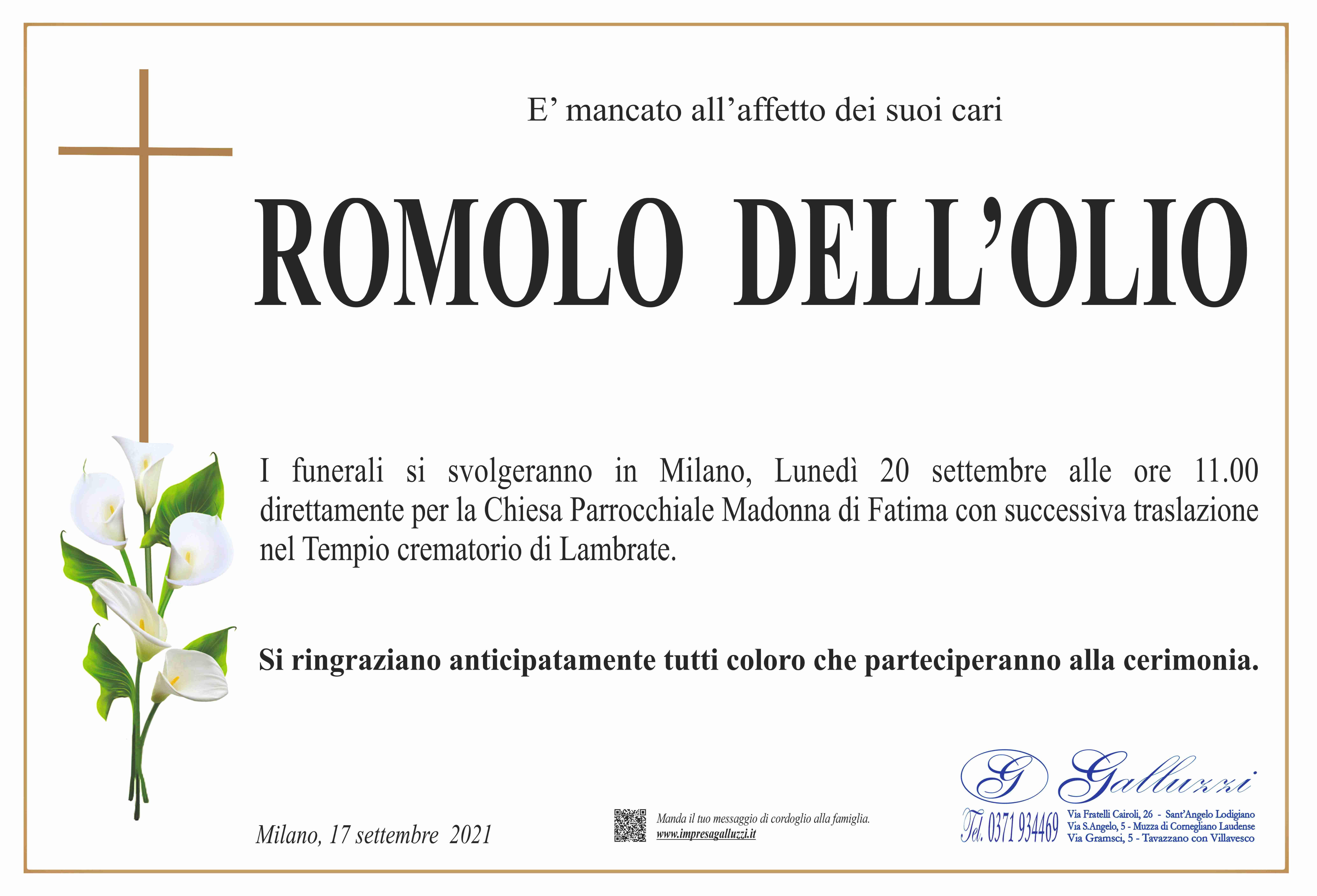 Romolo Dell'Olio