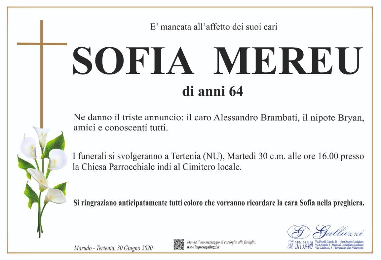 Sofia Mereu