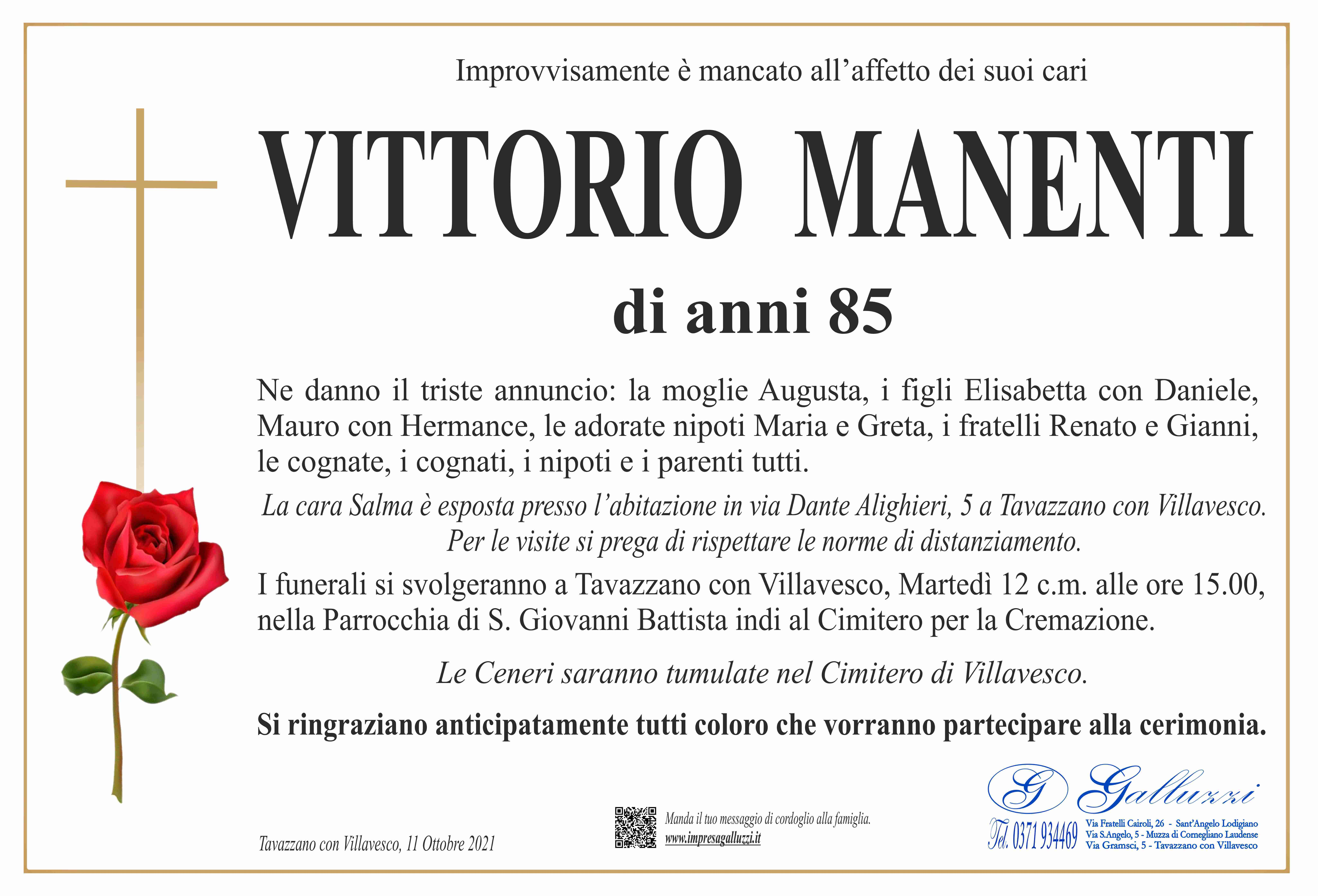 Vittorio Manenti