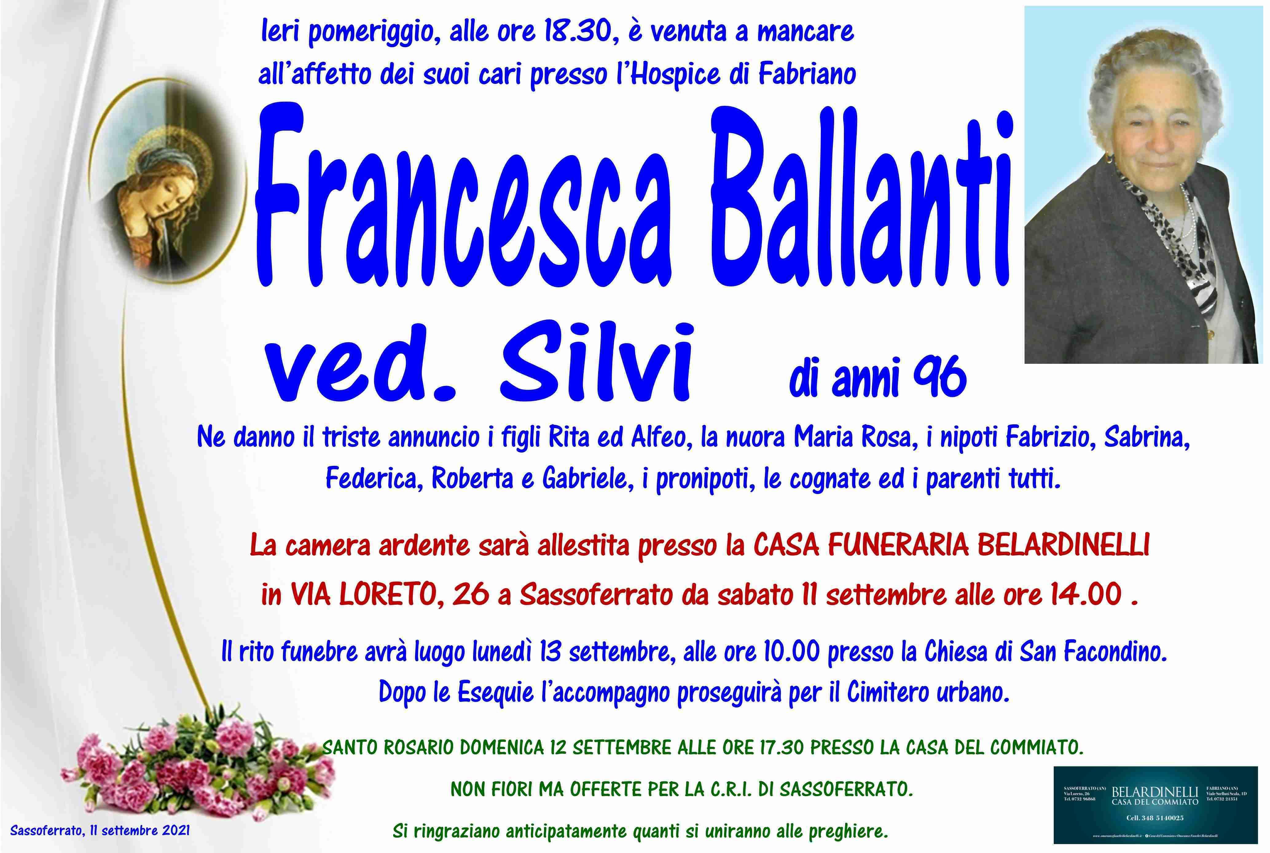 Francesca Ballanti