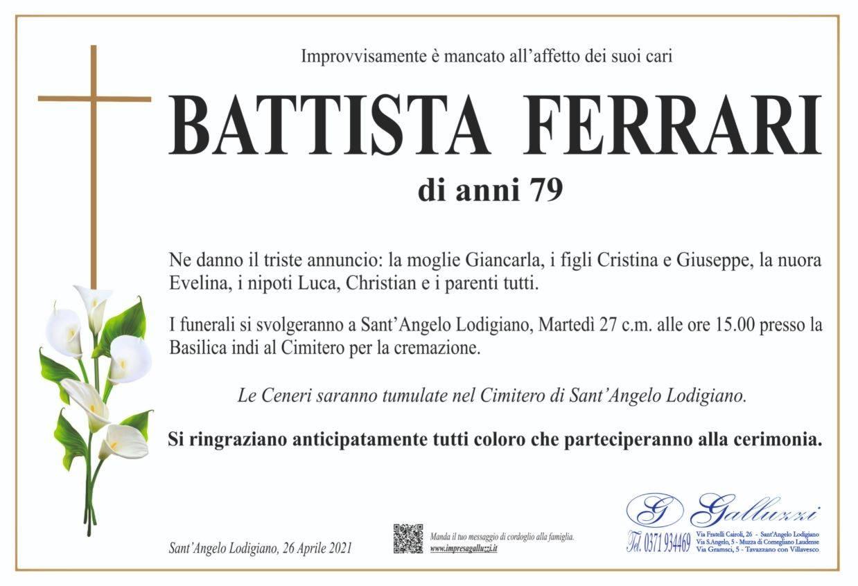 Battista Ferrari
