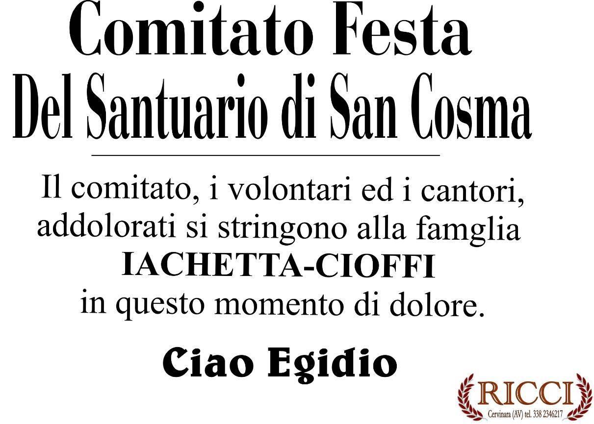 Comitato festa del Santuario di San Cosma