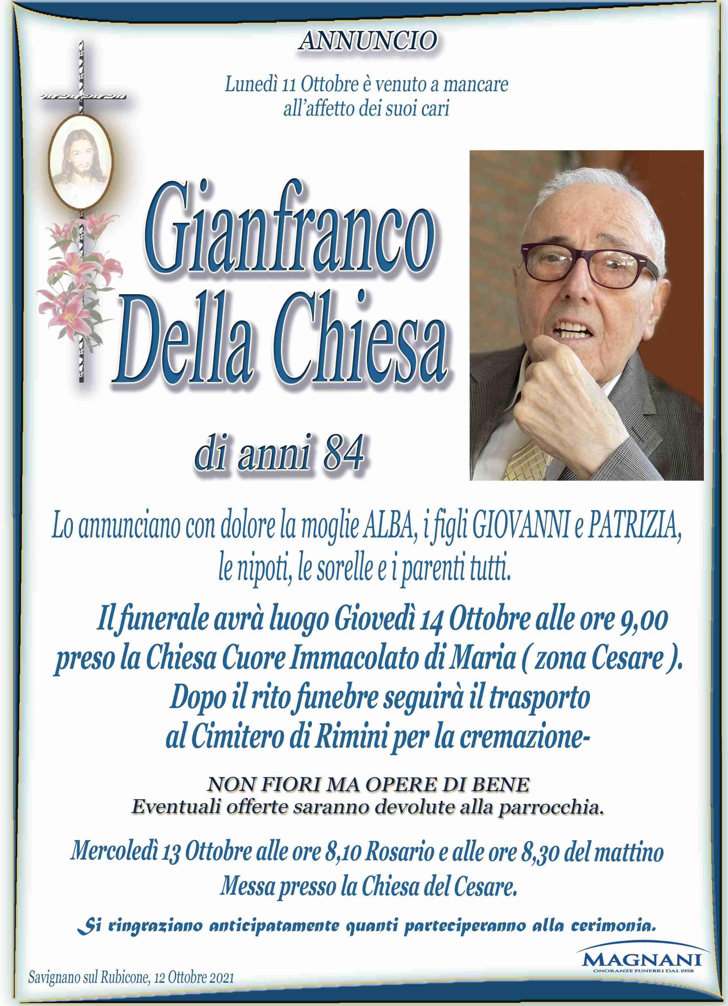 Gianfranco Della Chiesa