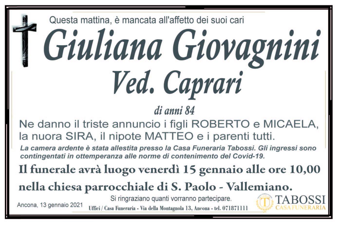 Giuliana Giovagnini