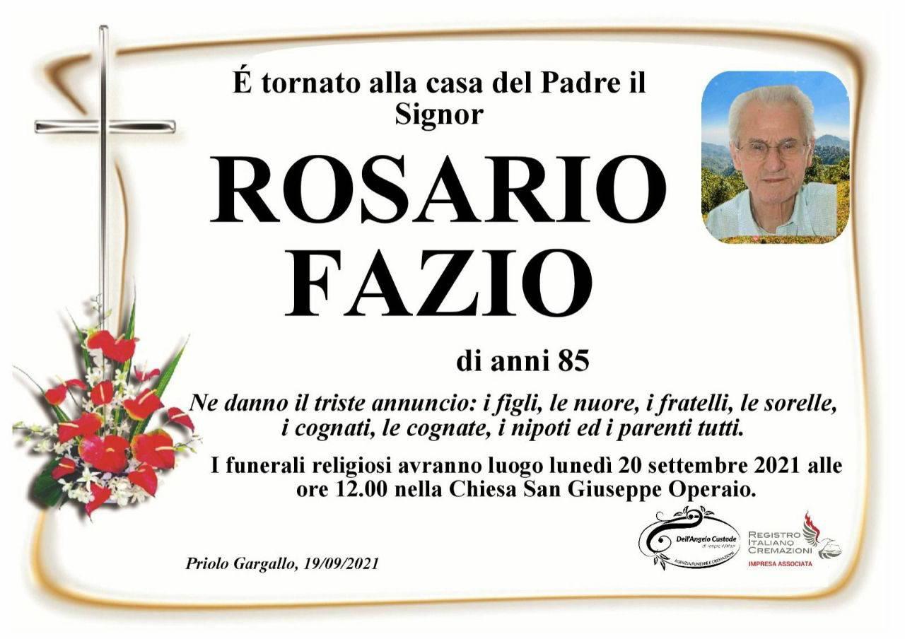 Rosario Fazio