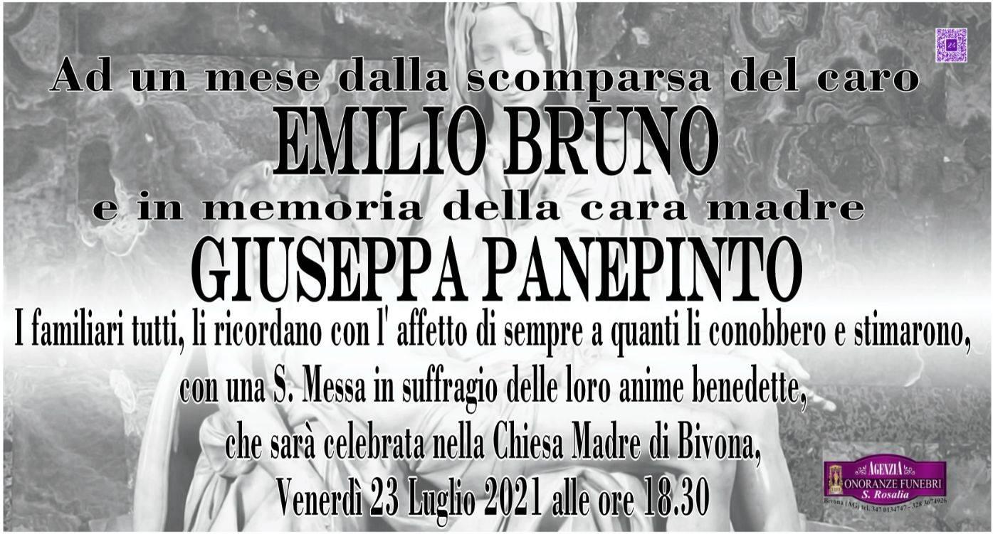 Emilio Bruno e Giuseppa Panepinto