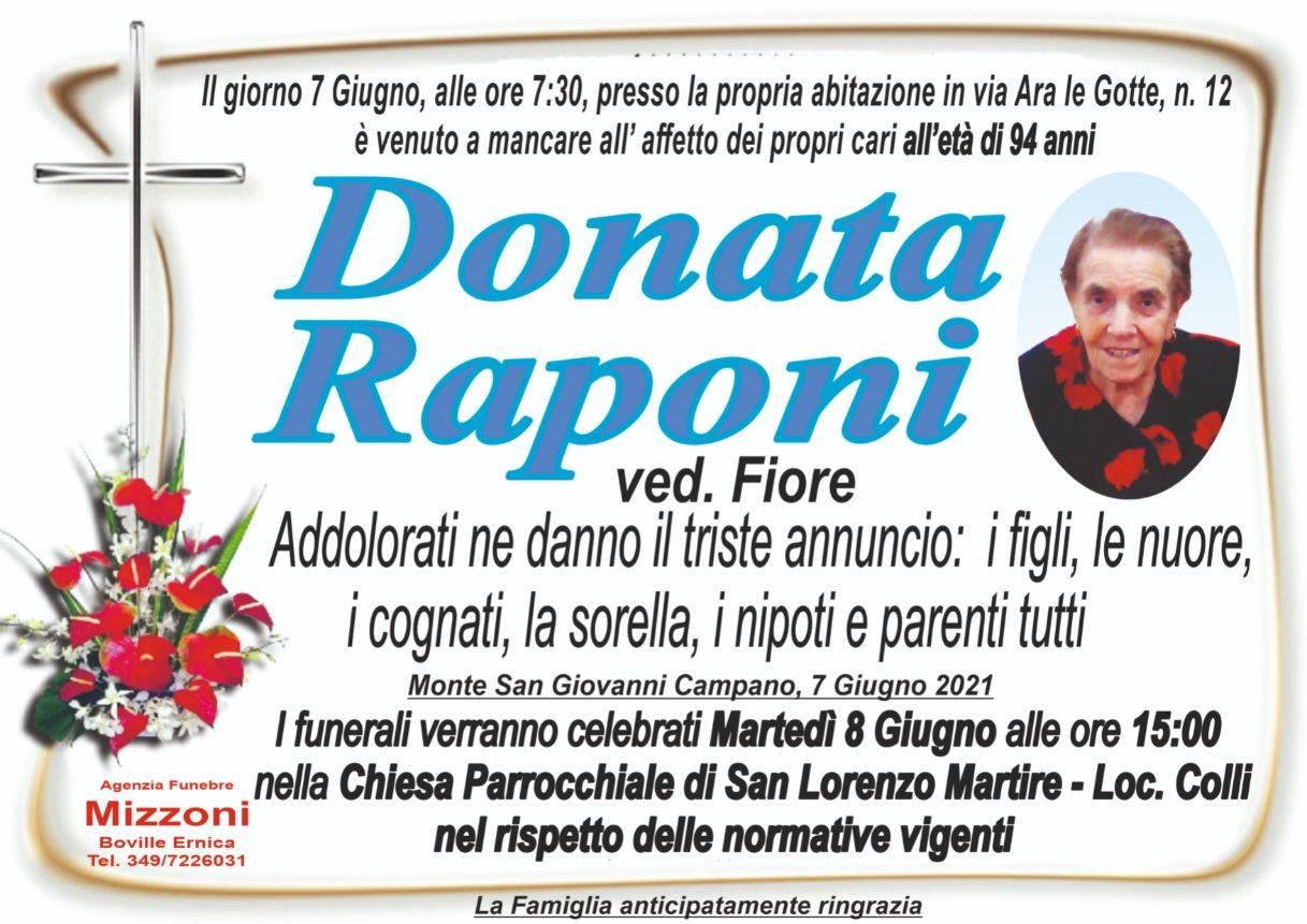 Donata Raponi
