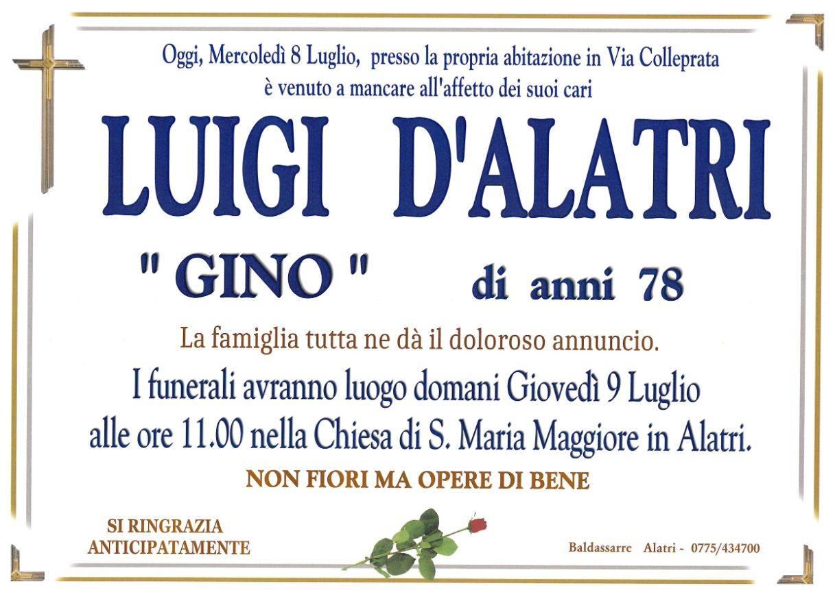 Luigi D'Alatri