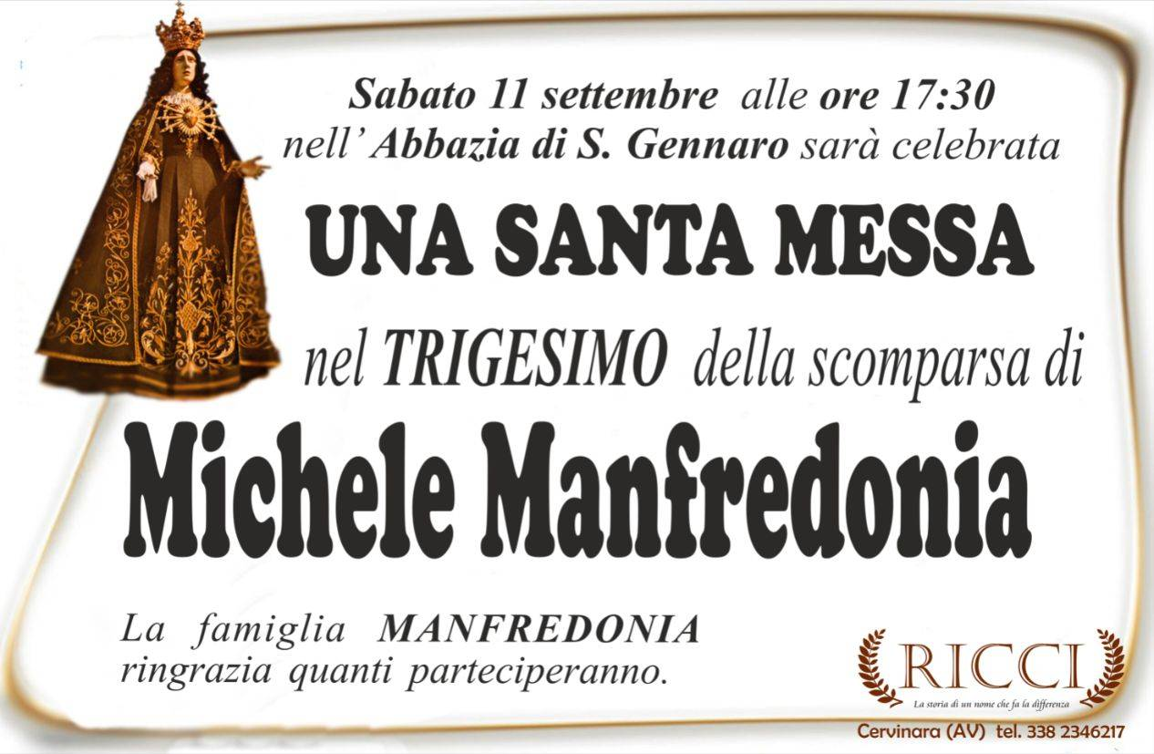 Michele Manfredonia