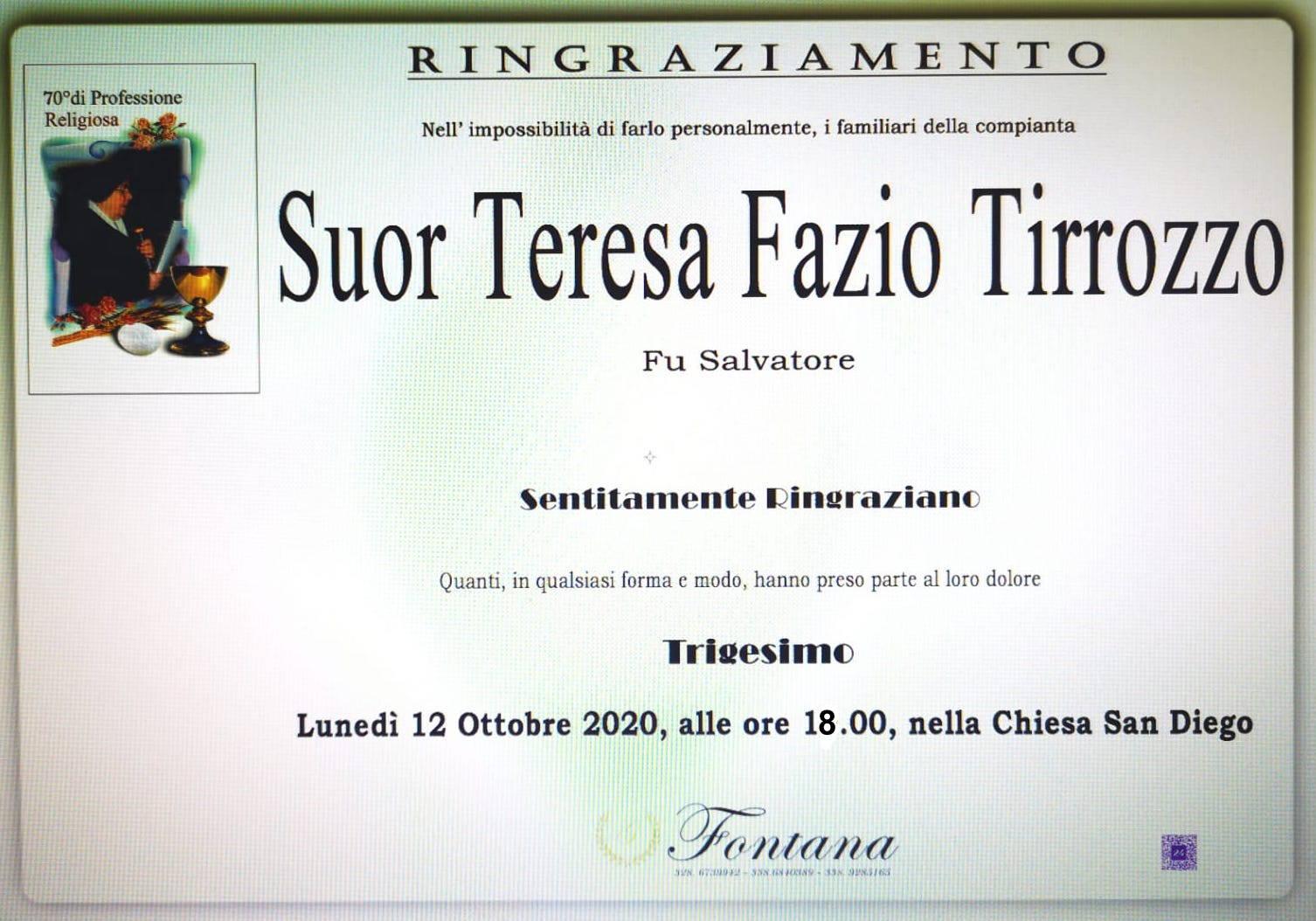 Teresa Fazio Tirozzo