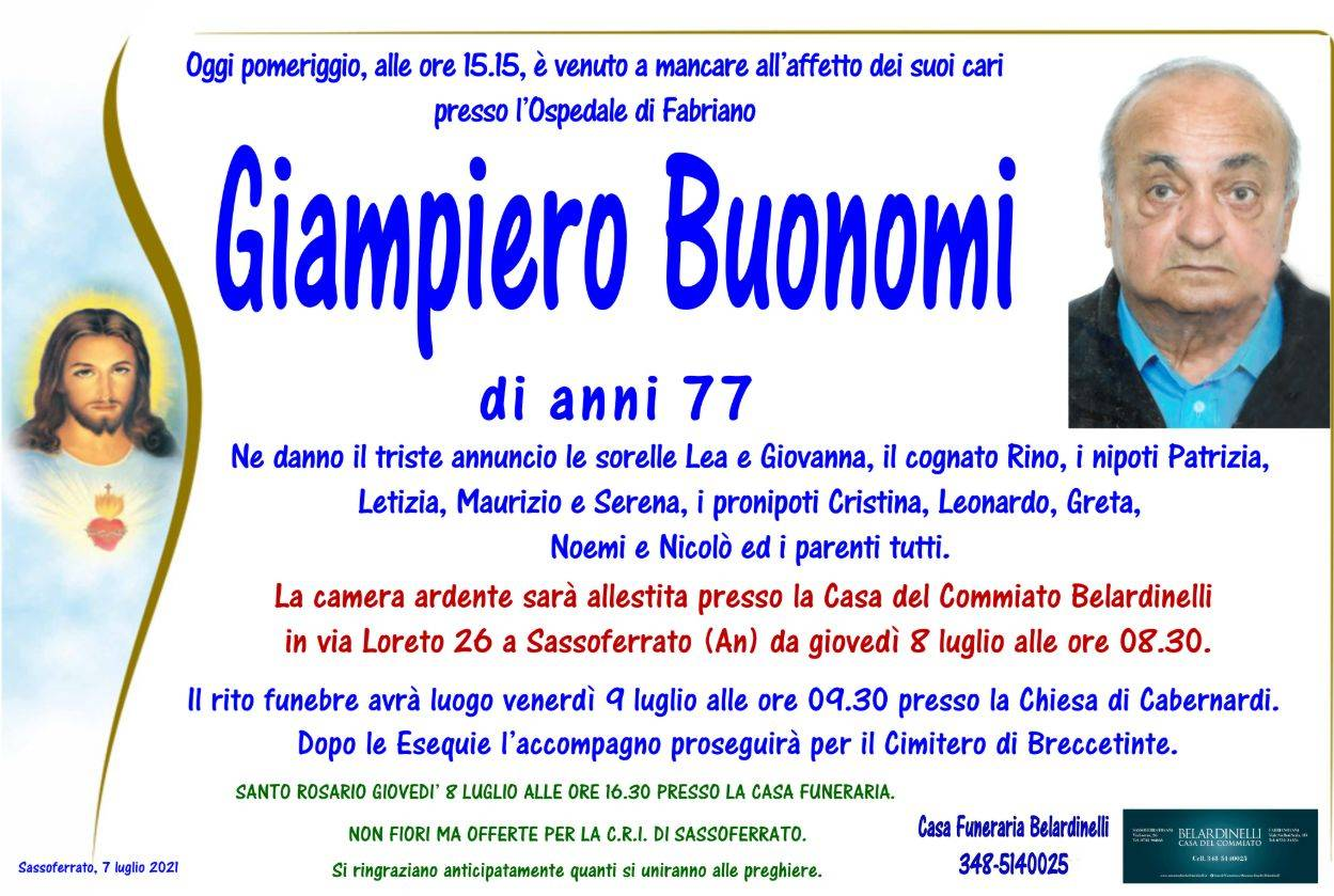Giampiero Buonomi