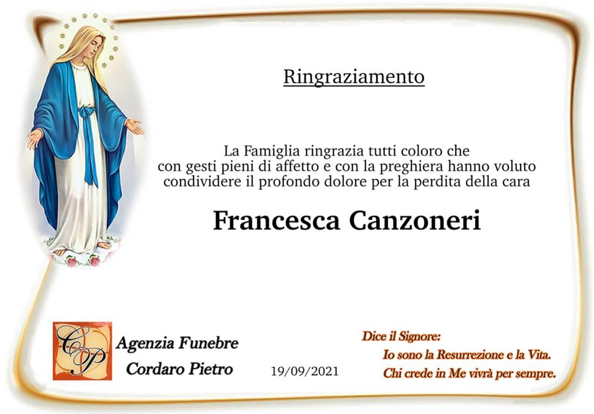 Francesca Canzoneri