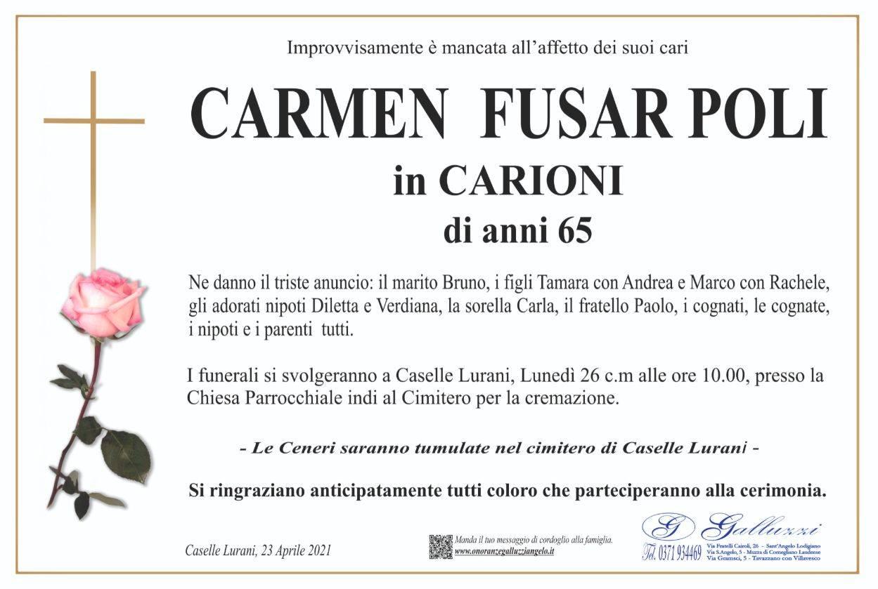 Carmen Fusar Poli