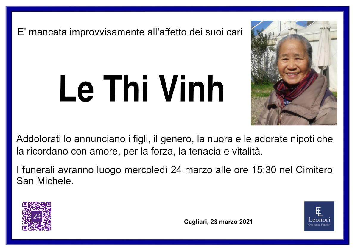 Thi Vinh Le