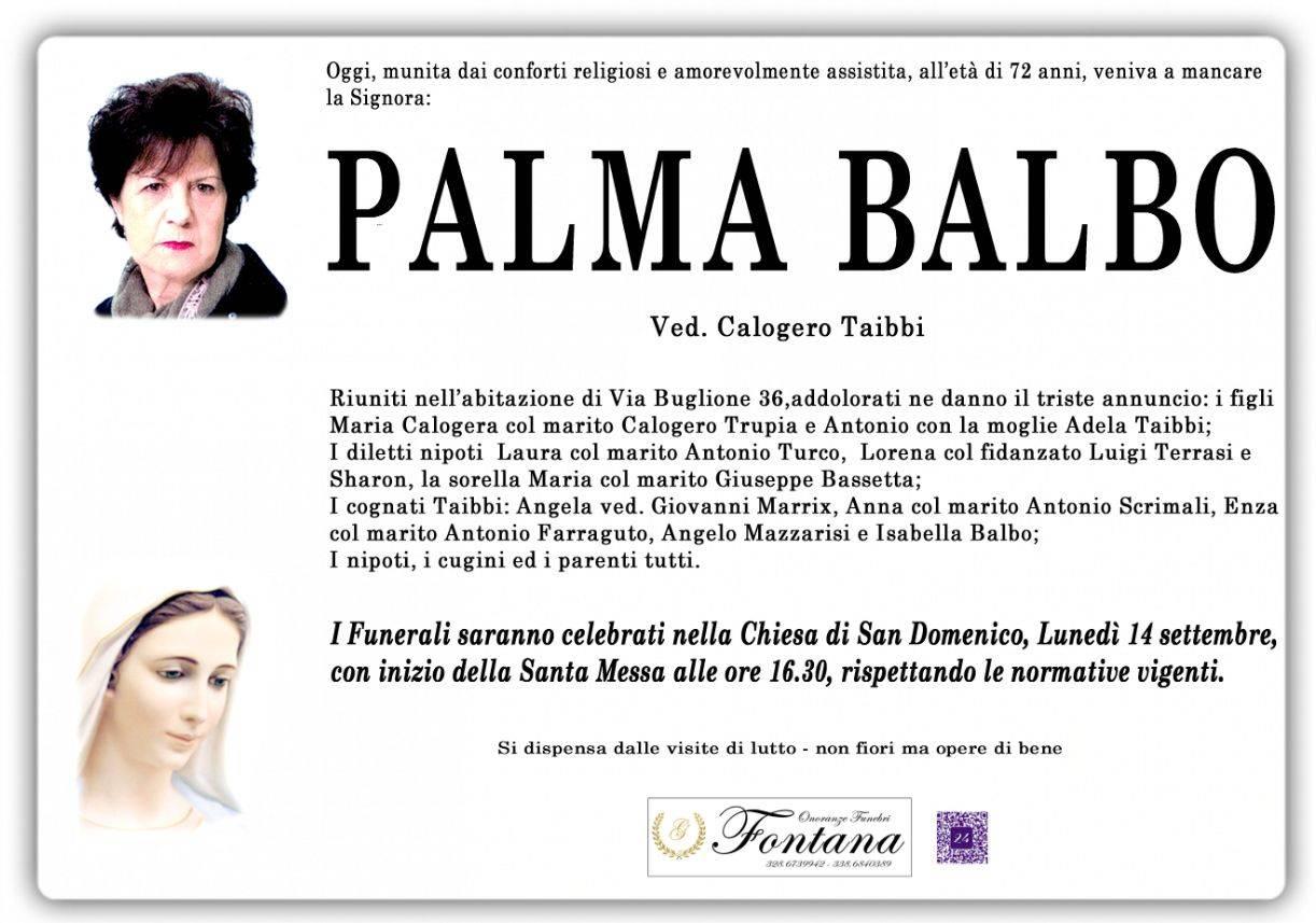 Palma Balbo