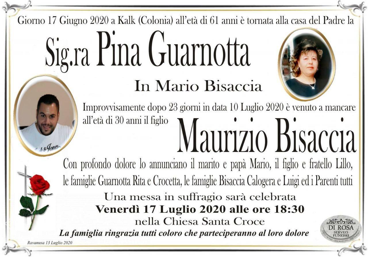 Pina Guarnotta e Maurizio Bisaccia