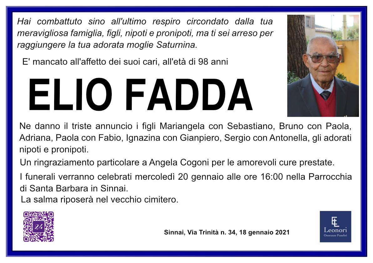Elio Fadda